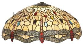 DT2234Y Kap Tiffany Ø55cm Dragonfly Beige