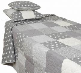 Q095 Clayre & Eef Bedsprei 260 x 260 cm Quilt Patchwork