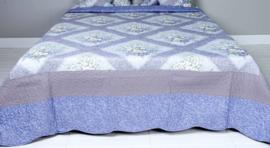 Q168 Clayre & Eef Bedsprei 180 x 260 cm Quilt Patchwork-style beddesprei