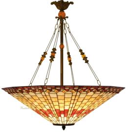5727 Hanglamp Tiffany Ø70cm Pinkdiamond