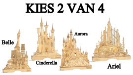 Illuminted Castle - Set van 2 - Kies 2 van 4