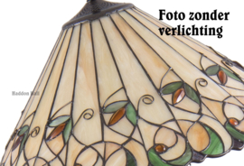 T095 Vloerlamp H157cm met Tiffany kap Ø50cm Jamelia