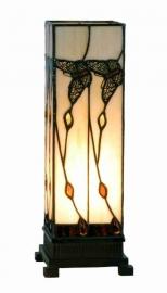 9261 Tiffany lamp H35cm Miniwindlicht Black Butterfly