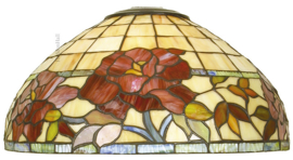 DT33 Kap Tiffany Ø40cm Red Rose