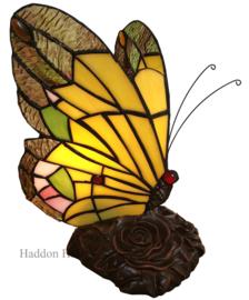 6009 Tiffany lamp Vlinder H23cm
