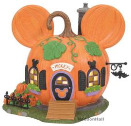 Mickey's Pumpkintown House Halloween H15cm D56 6007726
