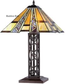 T4 Tafellamp Tiffany H55cm 40x40cm Serpentines