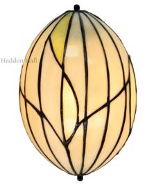 8110 Wandlamp Tiffany 25x16cm Nature