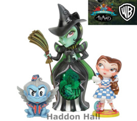 Dorothy , Wicked Witch & Winged Monkey Set van 3 Miss Mindy figurines