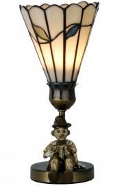 5641 Tafellampje Tiffany H24cm Ø12,5cm