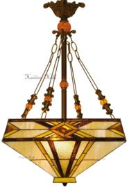5520 Hanglamp Tiffany 41x41cm Emile
