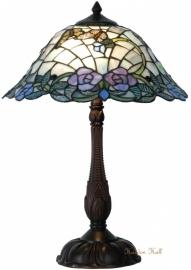5622 Tafellamp Tiffany   H53cm Ø40cm Purple Rose