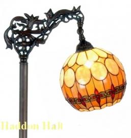 5316 9458 Vloerlamp H164cm met Tiffany kap Ø27cm
