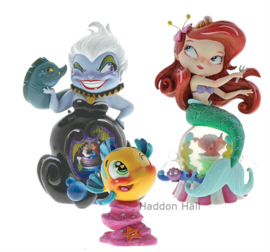 Ariel , Flounder & Ursula - Set van 3 Miss Mindy figurines