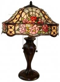 5631 Tafellamp Tiffany H58cm Ø42cm Rosalinde