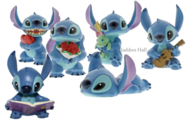 Stitch Hugs - Set van 6 figurines Disney Showcase