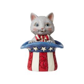 Patriotic Kitten H9cm Jim Shore 6006443
