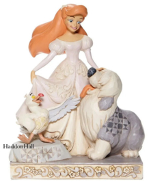 Ariel  Spirited Siren - White Woodland H19,5cm Jim Shore 6008066