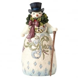 Be Joyful Always  H 23,5cm Jim Shore Victorian snowman 4053679