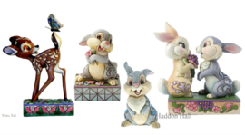 Bambi , Thumper, Mini Thumper en Thumper & Blossom - Set van 4 Jim Shore