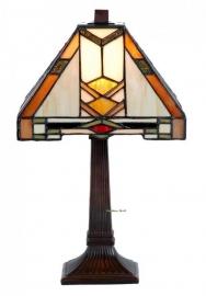 9928 Tafellamp Tiffany H37cm 22x22cm Durban