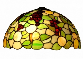 1137 Tiffany kap Ø40cm Redberrie