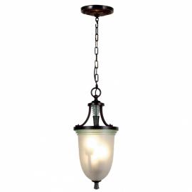 Hanglamp Art Deco ontwerp. Bruin 10049
