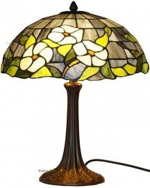 5823 9023 Tafellamp Tiffany H44cm Ø40cm Groen Marta