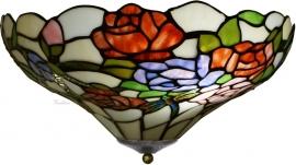 5766 Plafonniere Tiffany Ø40cm  Rosa