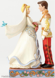 "CINDERELLA & PRINCE ""Happily Ever after"" H 15cm Jim Shore 4056748"