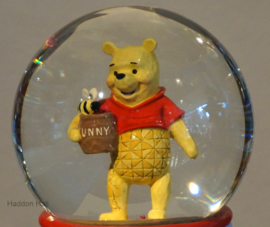 """WINNIE THE POOH """"SIlly Old Bear""""H15cm Jim Shore Waterbal 4059191"""