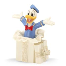 Donald's Surprise Gift H11cm Disney by Lenox