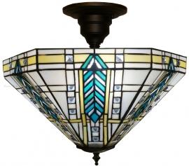 """T044M-SF01 Hanglamp-Plafonniere Frank Lloyd Wright Ø41cm """"Lloyd"""""""