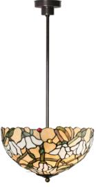 5923 7916 Hanglamp Tiffany Ø40cm Magnolia