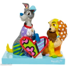 Lady & The Vagabond Limited Edition H17,5cm Disney by Britto 6008528