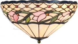 5774 80 Plafonniere Tiffany Ø40cm  Flora