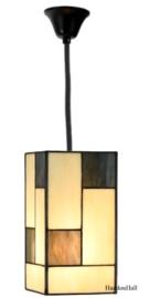 8116 Hanglamp Tiffany 12,5x12cm Mondriaan