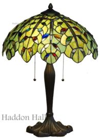 5293 Tafellamp Tiffany H60cm Ø43cm Teardrops