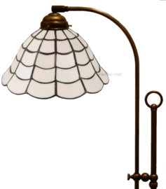 5935 Vloerlamp Verstelbaar met Tiffany kap Ø25cm Art Deco Paris