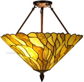 7878 Hanglamp Plafonniere Tiffany Ø50cm Jade