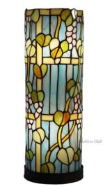 Ronde Tafellamp Tiffany   H 45cm Ø15cm Vingard  Y55