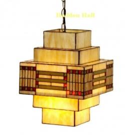 5514 HanglampTiffany 30x30cm  Rietveld