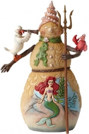 "ARIEL ""Christmas By The Sea"" H18cm Jim Shore 4046021"
