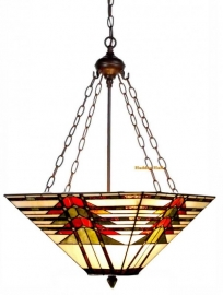 5724 8834 Hanglamp Tiffany  47x47 cm  Midway