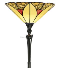 KT32 TG08BU Vloerlamp H175cm met Tiffany kap Ø40cm Sunset