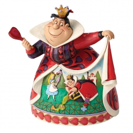 Alice- Queen of Hearts  Royal Recreation  H 18cm 65th Anniversary Piece 4051993