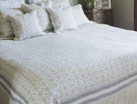 Q135 Clayre & Eef Bedsprei 140 x 220 cm Quilt Patchwork-style