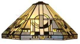 TM25 Tafellamp Tiffany H55cm Ø42cm Metropolitan