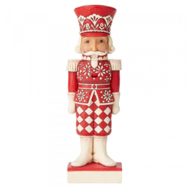 Nordic Noel Nutcracker H25,5cm Jim Shore 6004230