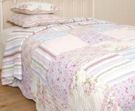Q004 Clayre & Eef Bedsprei 300 x 260 cm Quilt Patchwork